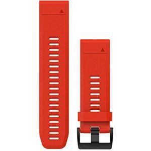 Zamjenski remen za Garmin  fenix 5x/6x - vatreno crveni QuickFit 26mm