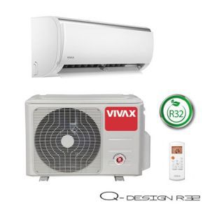 Klima uređaj Vivax ACP-12CH35AEQI R32 Cool Q DESIGN inverter, bijela, komplet