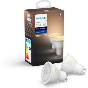 Žarulja reflektorska Philips HUE W 5W GU10 2kom, EUR, BT