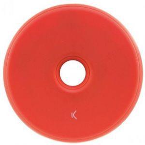 KSIX bežični punjač mini crveni