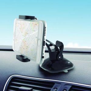 KSIX univerzalni auto držač za smartphone za komandnu ploču crni