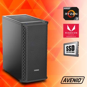 Računalo Avenio Vindicator AMD Ryzen 5 3400G 3.70GHz 8GB 240GB SSD + 1TB HDD FreeDOS Radeon™ Vega 11 Graphics