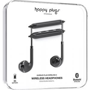 Happy Plugs Wireless II bežične slušalice crne