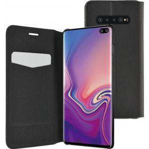 Azuri zaštitni samostojeći ultra tanki book cover za Samsung Galaxy S10 Plus crni AZBOOKUT2SAG975-BLK