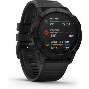 Pametni Outdoor sat Garmin Fenix 6X PRO Black  / crni remen