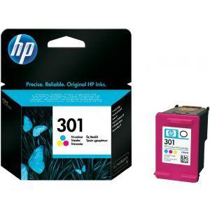 Tinta HP 301 Tri-color Ink Cartridge, CH562EE
