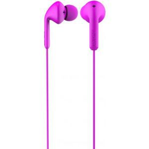 DeFunc Earbud basic music slušalice roze D0335