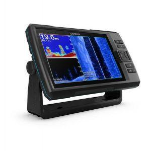 Fishfinder Garmin Striker Plus 9sv (s krmenom sondom CHIRP 150-240kHz/DownVü/SideVü GT52HW-TM, 12-pin),GPS