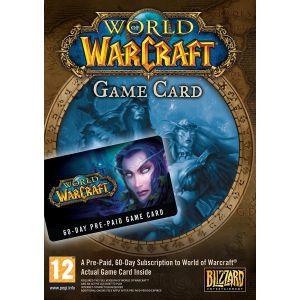 World of Warcraft Prepaid Card 60 days PC