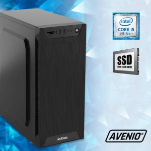 Računalo Avenio TopOffice Intel Core i5 9400 2.90GHz 8GB 240GB SSD DVDRW FreeDOS Intel UHD Graphics 630