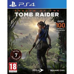 Outlet_Shadow of the Tomb Raider Definitive Edition PS4  - OŠTEĆENA AMBALAŽA