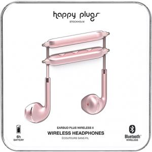 Happy Plugs Wireless II bežične slušalice Pink Gold