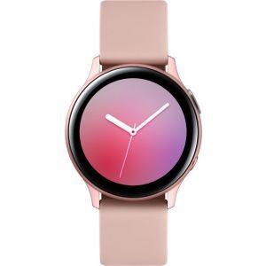 Sat Samsung Galaxy Watch Active 2 40mm zlatno rozi aluminij zlatno rozi silikonski remen SM-R830NZDASEE
