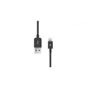 TTEC kabel lightning za Iphone 1m crni 2DKM01S