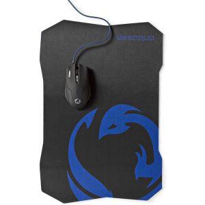 Nedis GMMP100BK, gaming miš + podloga za miša, 1600DPI, 6 gumbi