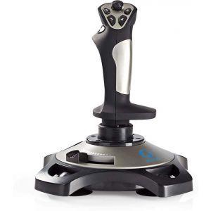 Nedis GJSK200BK, gaming joystick,  force vibration, USB napajanje