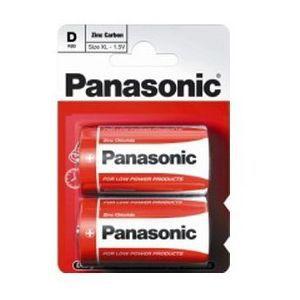 Baterije Zinc Carbon Panasonic R20RZ/2BP
