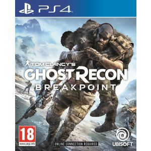 Outlet_Tom Clancy's Ghost Recon Breakpoint Aurora Deluxe Edition PS4  - OŠTEĆENA AMBALAŽA