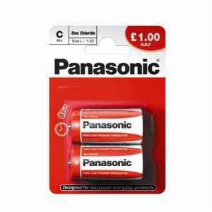 Baterije Zinc Carbon Panasonic R14RZ/2BP