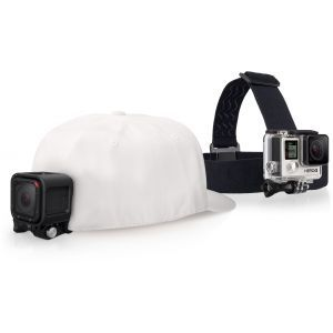 GoPro pribor Head Strap + Quickclip