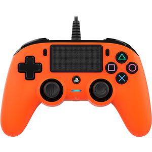 Bigben Wired Nacon Controller PS4 3m kabel (PC compatible) narancasti