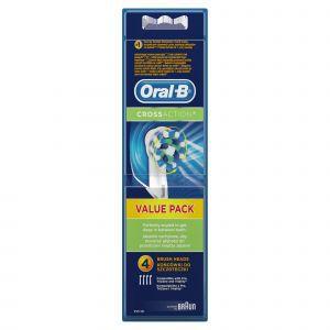 Četkica za zube OralB nastavak CROSS ACTION 4 WHITE