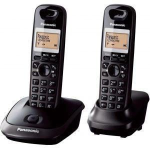 Telefon Panasonic KX-TG2512FXT crni, 2 slušalice