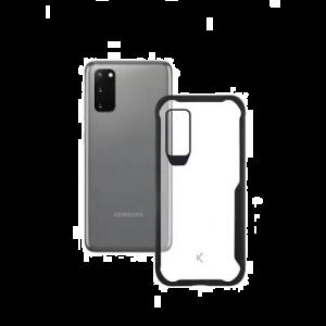 KSIX flex armor zaštitna maska za Samsung Galaxy S20 Ultra prozirno crna