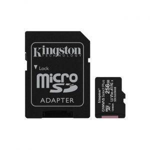 Kingston 256GB micSDHC Canvas Select Plus 100R + ADP