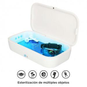 KSIX UV light box sterilizator sa 10W bežičnim punjačem