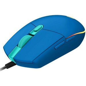 Logitech miš G102 LIGHTSYNC, plavi