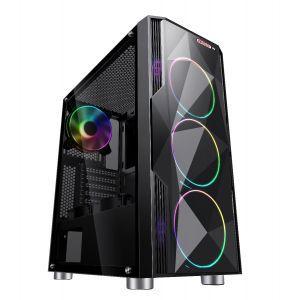 Računalo MSG Sancta Gamer a115 AMD Ryzen 5 1600 3,20GHz,AMD B450,1x8GB DDR4 2666MHz,NVIDIAGeForce GTX 1650 4GB GDDR6,M.2 SSD 256GB,HDD 1TB,NO ODD, Free DOS