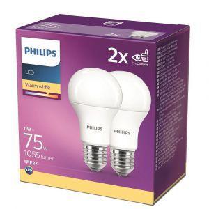 Žarulja Philips LED  E27, 75W, Warm White, 2kom*
