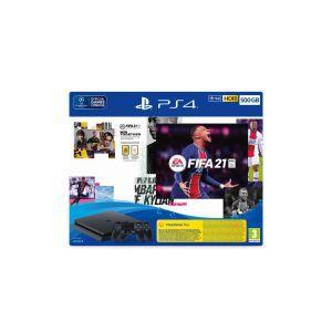 PlayStation 4 500GB F Chassis Black + FIFA 21 + FUT VCH + PS Plus 14dana+ Dualshock Controller v2