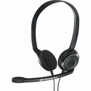 Slušalice Sennheiser PC 8-USB black