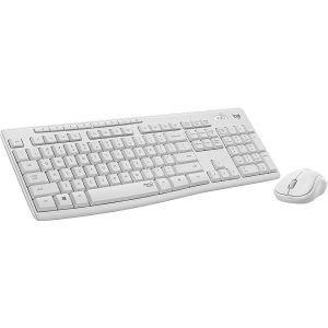 Logitech MK295, bežična tipkovnica i miš, bijela