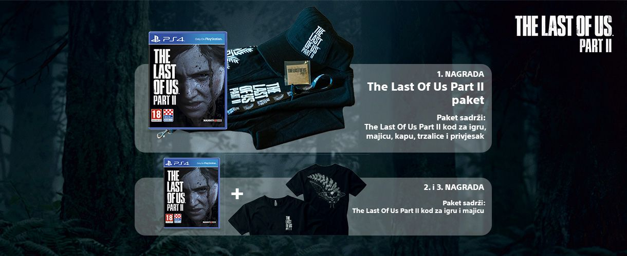 The Last Of Us Part II - Pravila nagradnog natječaja