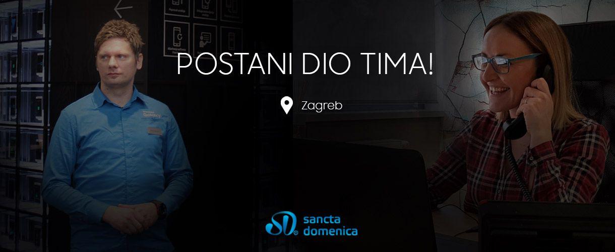 Tražiš posao? Pridruži nam se u Zagrebu!