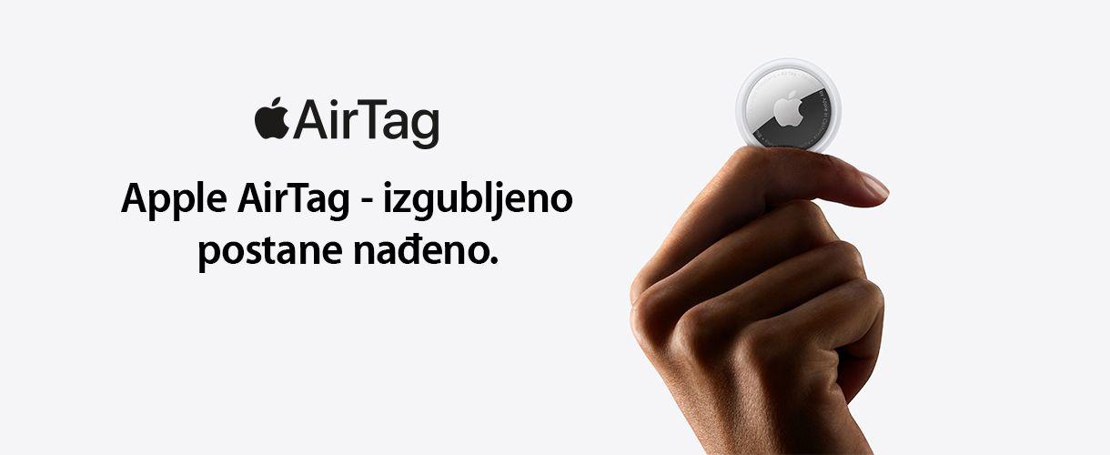 Apple AirTag – izgubljeno postane nađeno