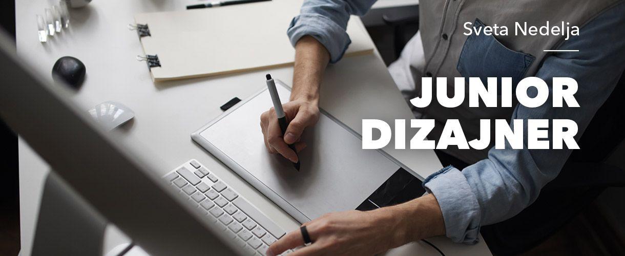 Tražimo Junior dizajnera (m/ž)
