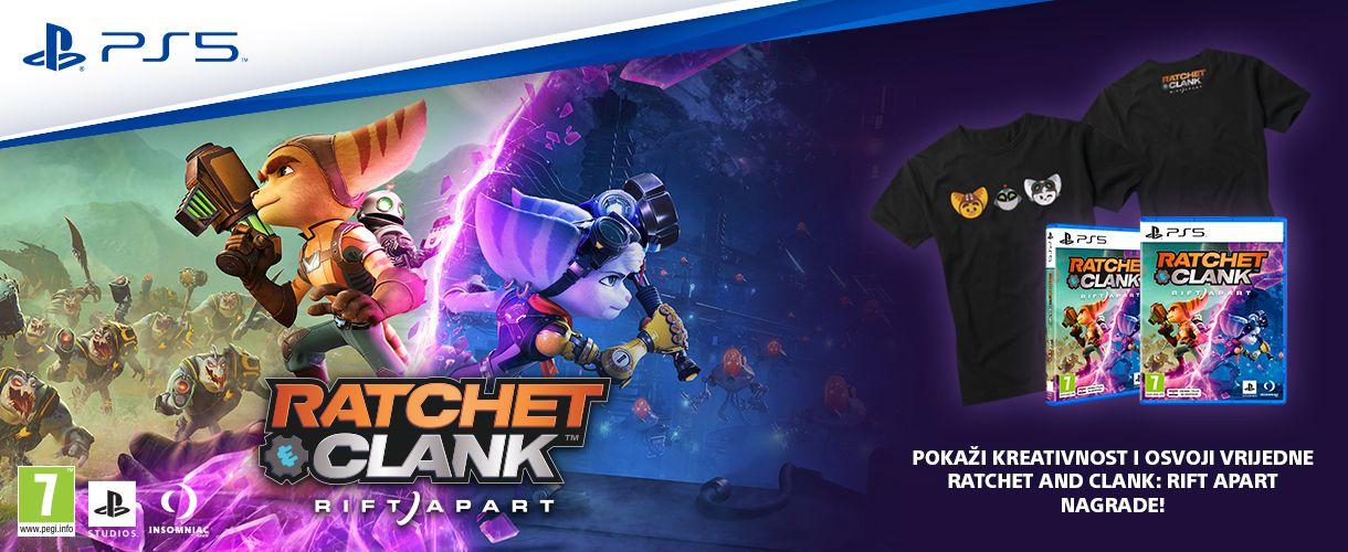 Ratchet And Clank: Rift Apart - Nagradni natječaj