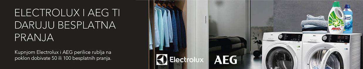 Electrolux i AEG ti daruju besplatna pranja!