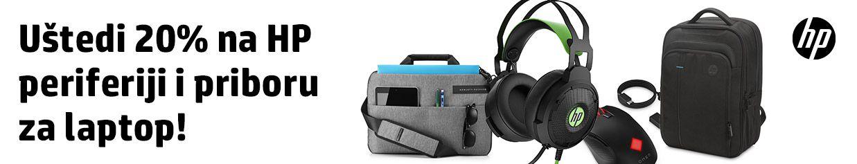 Uštedi 20% na HP periferiji i priboru za laptop!