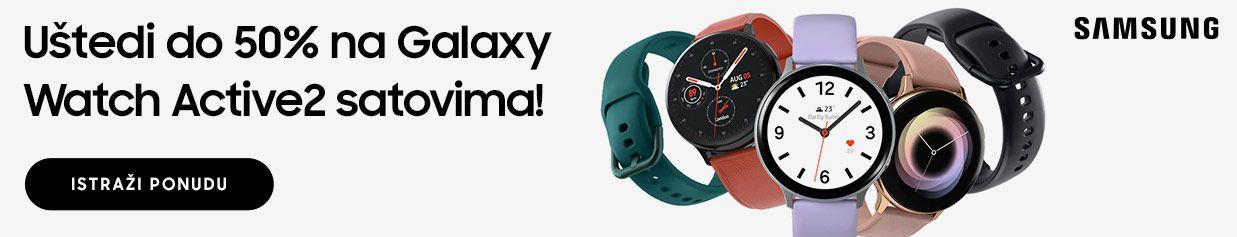Galaxy Watch Active 2  se vratio - atraktivniji  nego ikada!