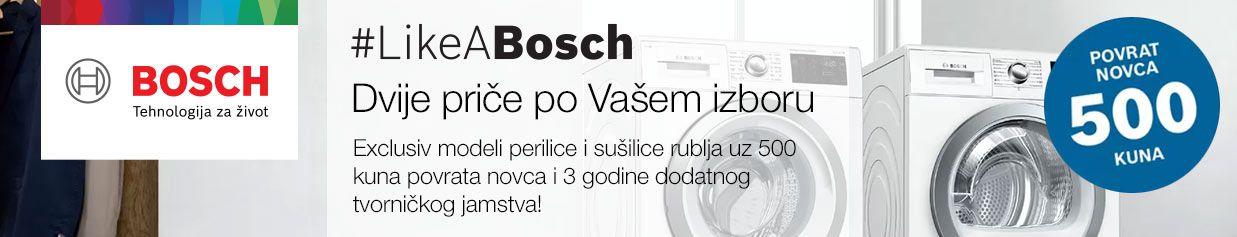Bosch Exclusiv modeli perilice i sušilice rublja uz 500 kuna povrata!