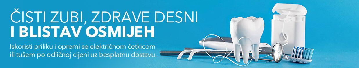 Čisti zubi i blistav osmijeh uz odlične uređaje za oralnu njegu!