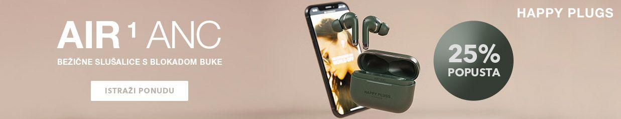 Uštedi čak 25% na HAPPY PLUGS slušalicama s aktivnom blokadom buke