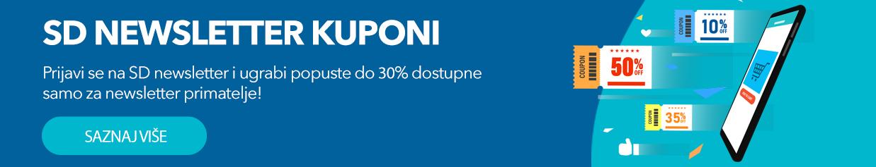 SD Newsletter kuponi nose uštede svima!