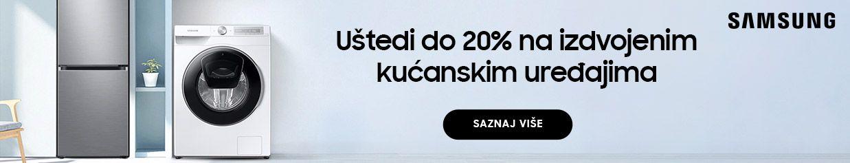 Uštedi do 20% na izdvojenim Samsung kućanskim uređajima