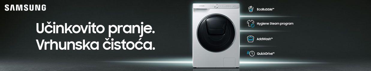Istraži novu liniju Samsung perilica rublja
